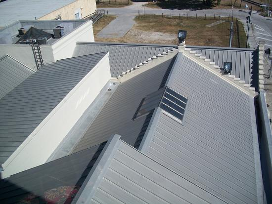 Swope/Rodante Law Firm -  24 Gauge Galvalume Standing Seam Metal