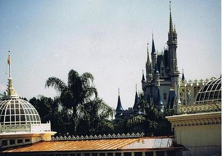 Disney World Crystal Palace - Standing Seam Copper Metal